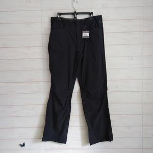 Eddie Bauer Men's MR Rainier black pants